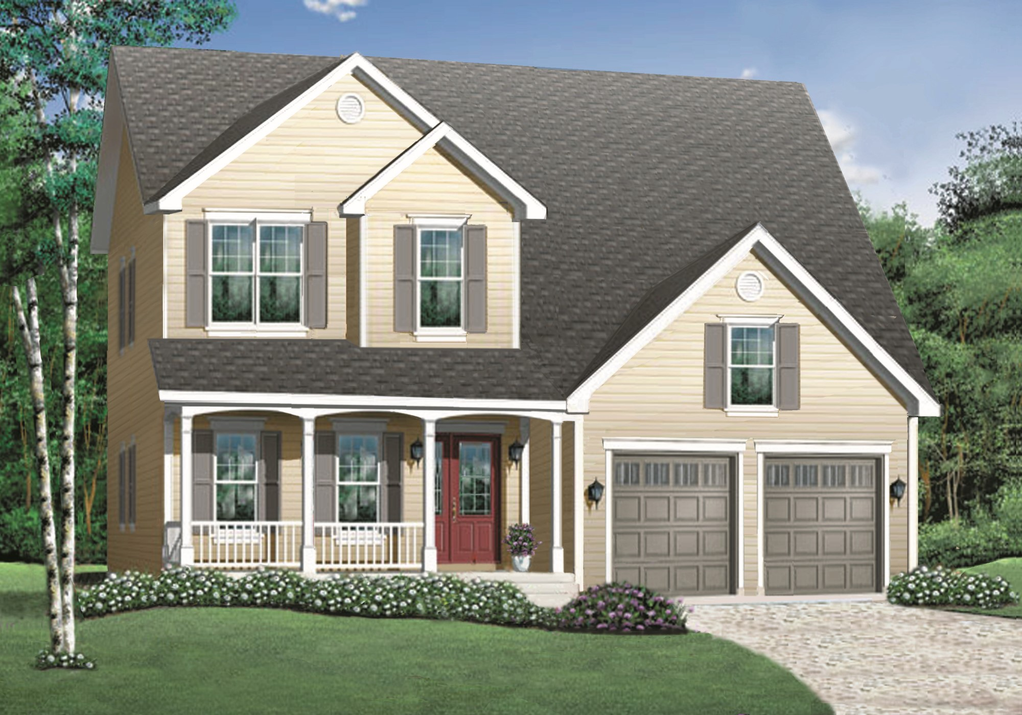 Woodside Home Plan
