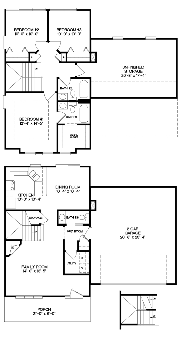 The Brodhead Floor Plan
