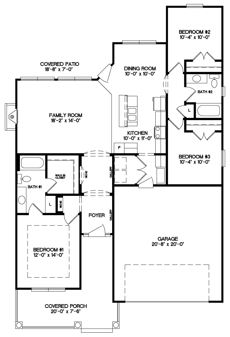 The Laurel Floor Plan