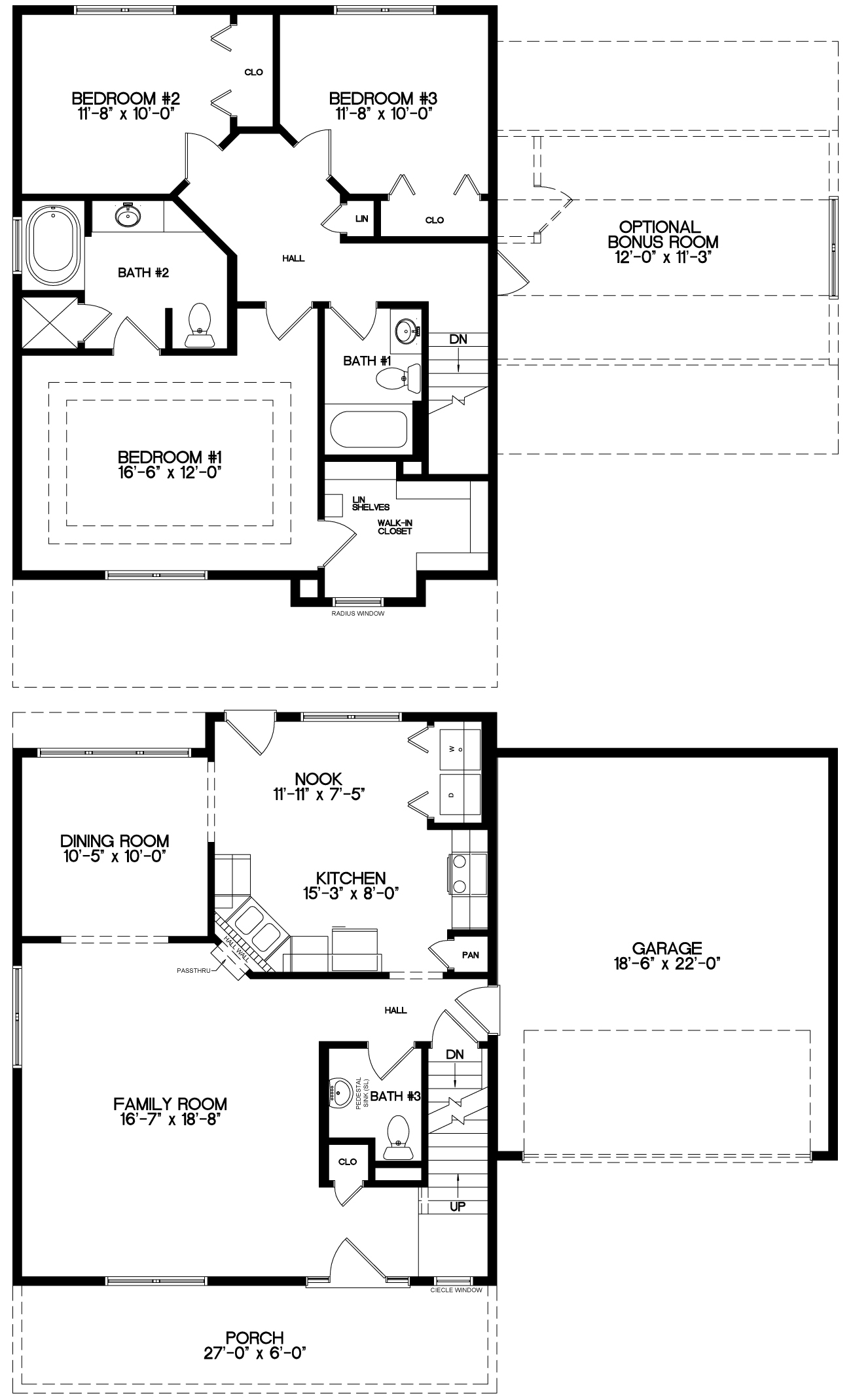 The Pinecrest Floor Plan