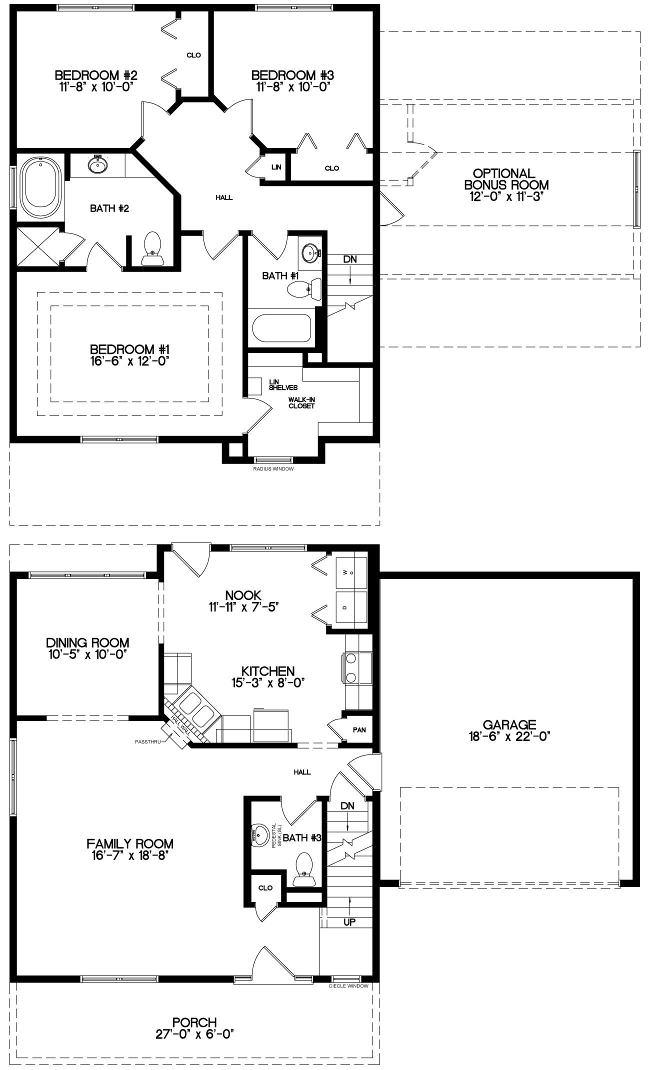 The Pinecrest Floor Plan
