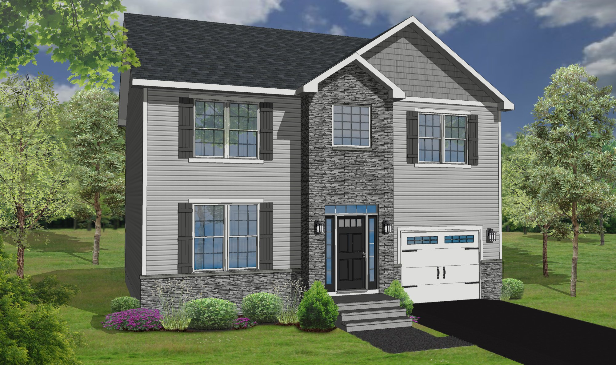 The April Home Model Rendering