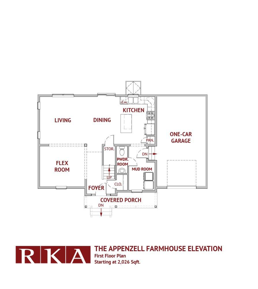 Hideaway Hills Apenzell II 1st Floor Plan