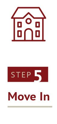 Step 5 Move In