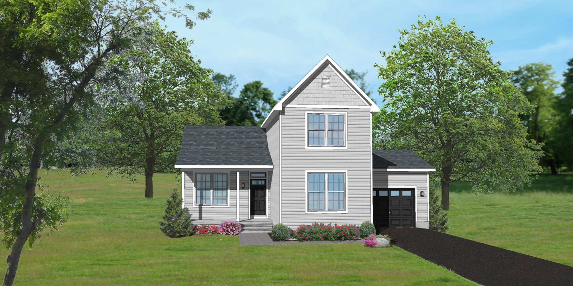 The Blexley Traditional Elevation Home Design